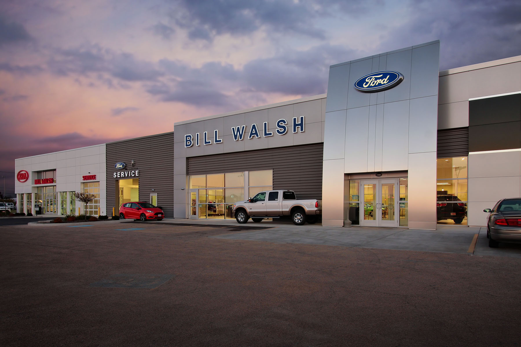 ford custom facilities dealership designbuild