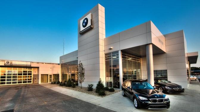 Bmw Custom Facilities Dealership Design Build